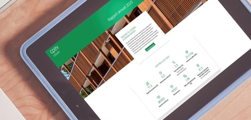 Le rapport annuel 2020 de la CPEV est en ligne